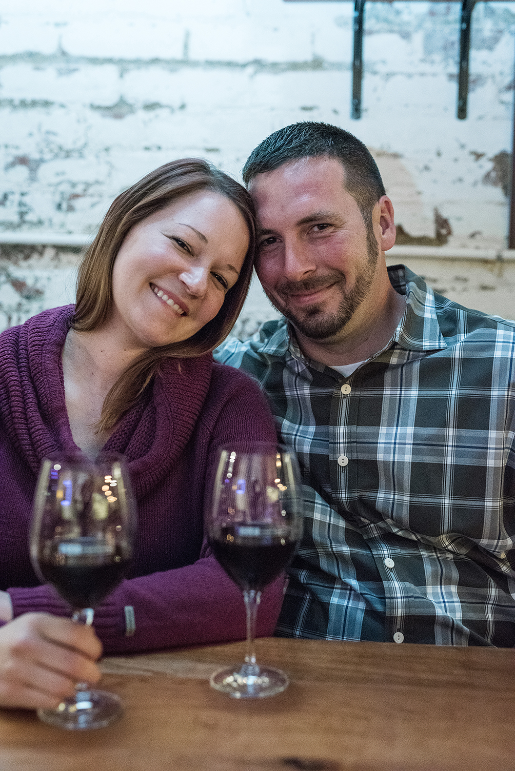 Winery Engagement Shoot in Cleveland Ohio